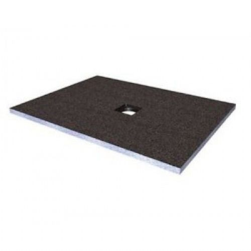 Abacus Elements Rectangular Standard Shower Tray 30mm High With Centre Drain - 1600mm x 900mm